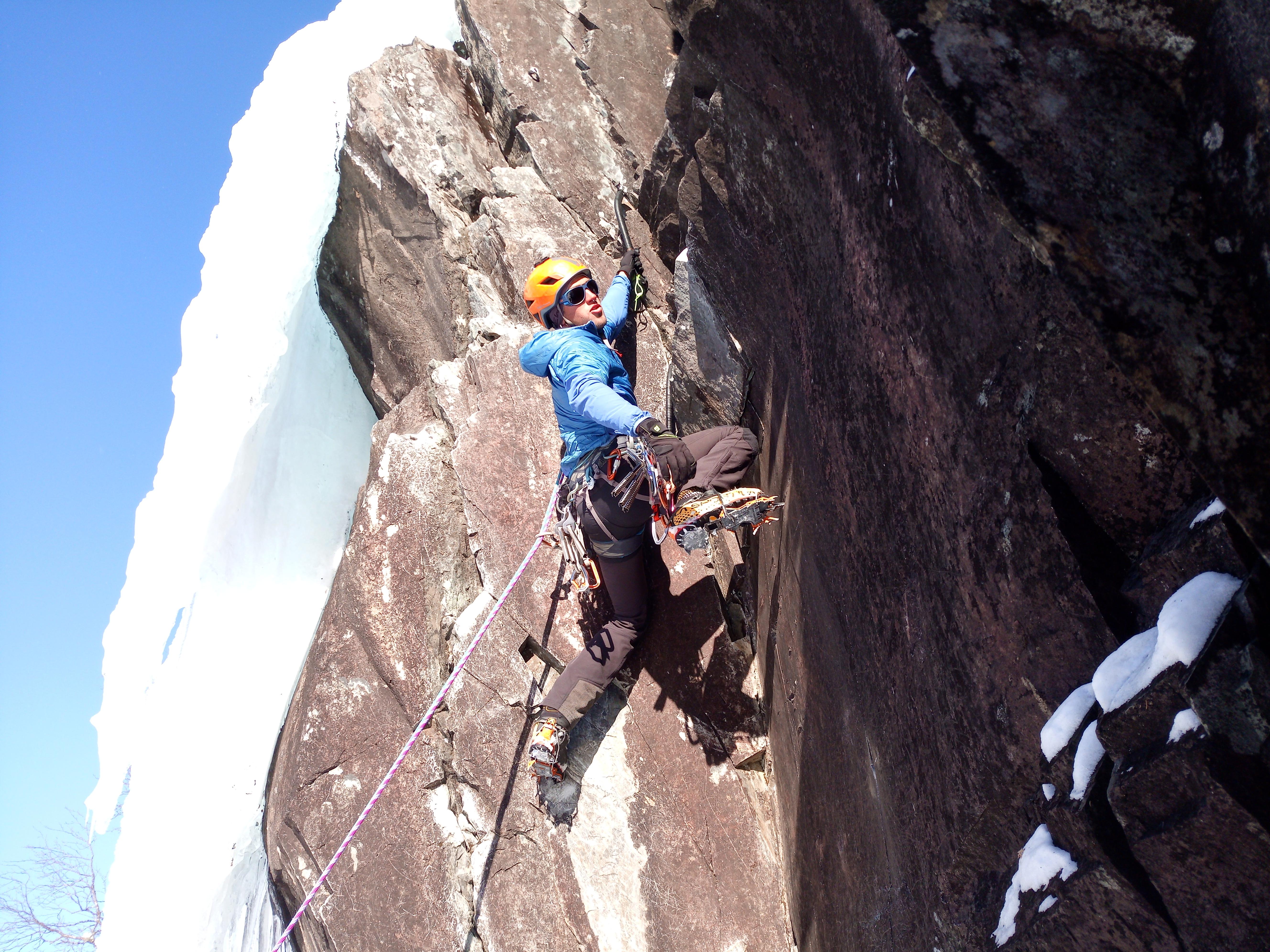 El CTAC inicia l'última concentració en gel amb grans escalades a Noruega