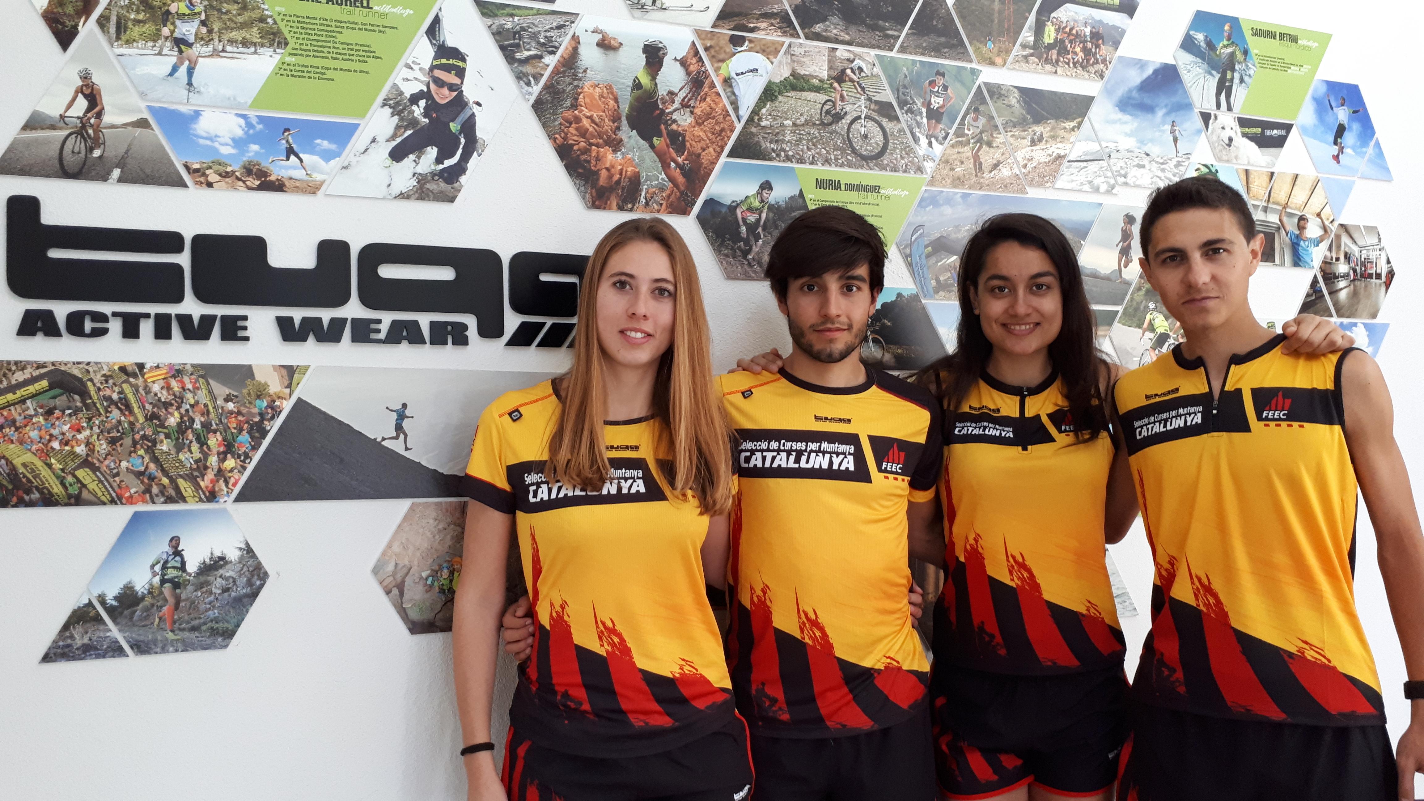 Més de vint anys portant els colors de Catalunya a la Copa del Món de Curses per Muntanya