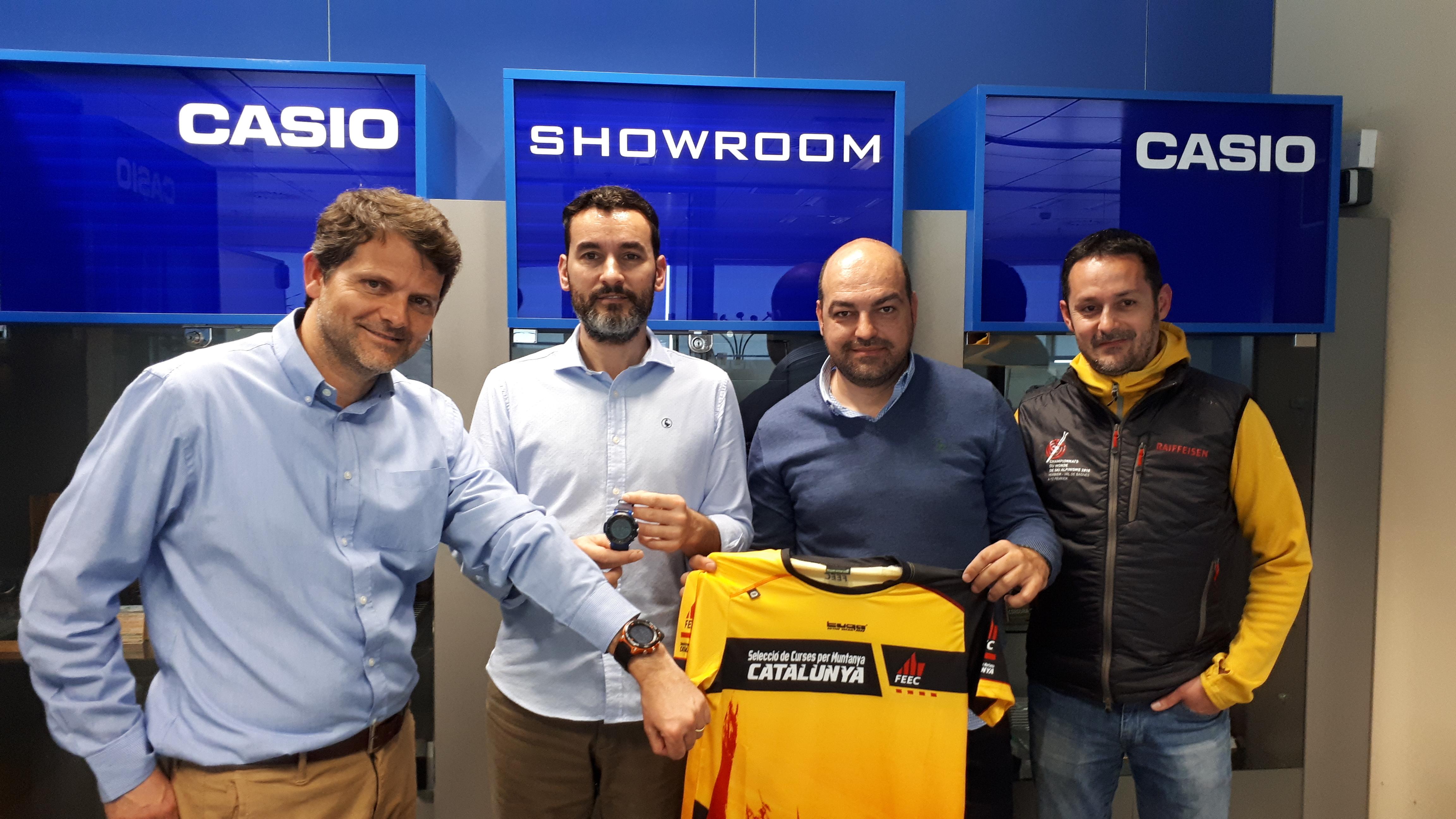 Casio s'estrena com a nou patrocinador de la Selecció Catalana de Curses per Muntanya