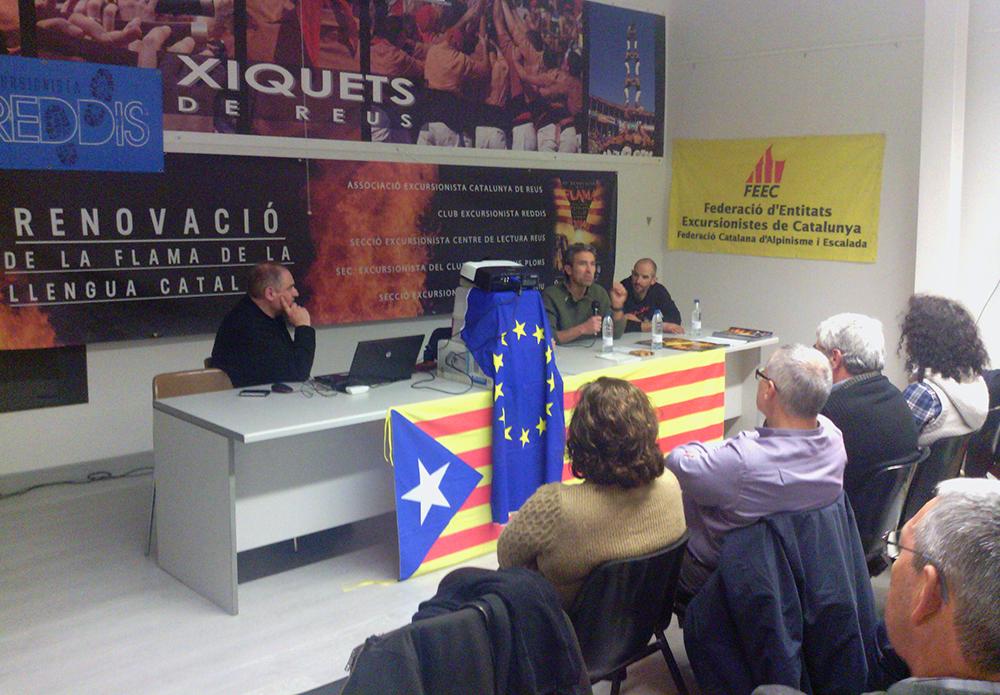 """Feec Notícies - Xerrada """"La Independència i l'Esport"""" per la 45a Renovació de la Flama de la Llengua Catalana"""