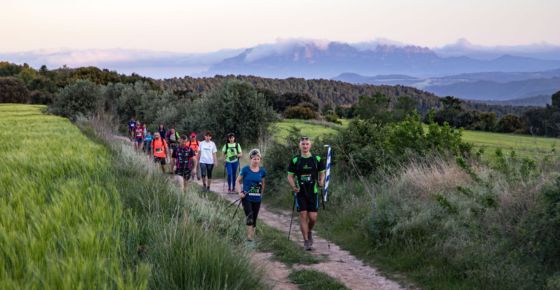 Navàs i Montserrat marquen l'equador del Circuit Català de Caminades de resistència