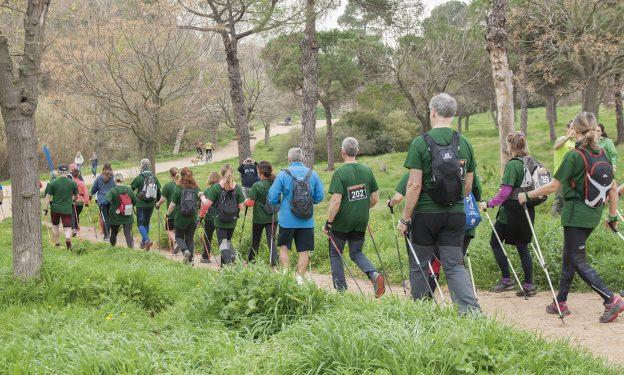 La 2a Selva Nòrdic Walking, una marxa nòrdica per la Selva del Camp