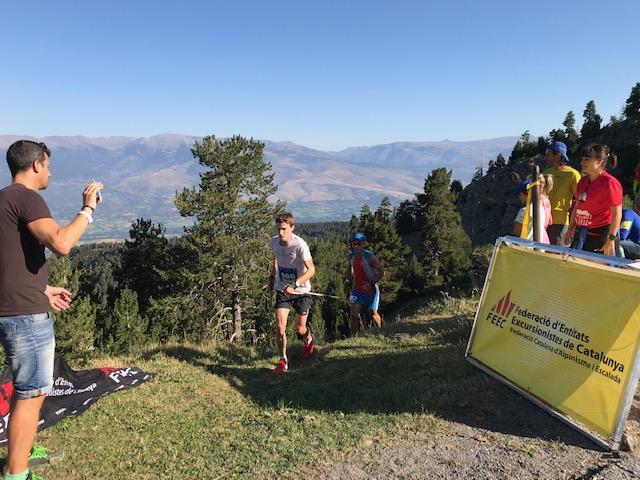 Marc Sabater i Fátima de Diego s'emporten la VerticAlp Sky Race