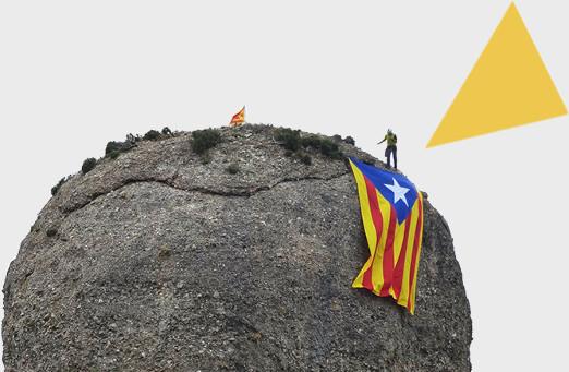'Llum i Llibertat' il·luminarà les agulles de Montserrat l'1 d'octubre