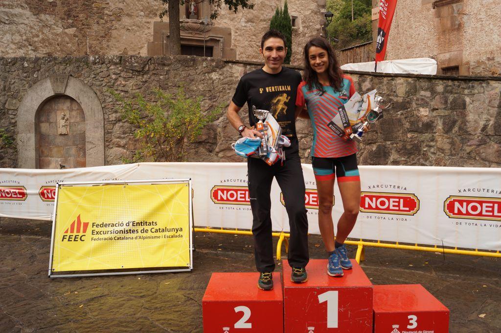 Marta Llagostera i Gerard Españó s'imposen a la cinquena edició de la VertiKalM