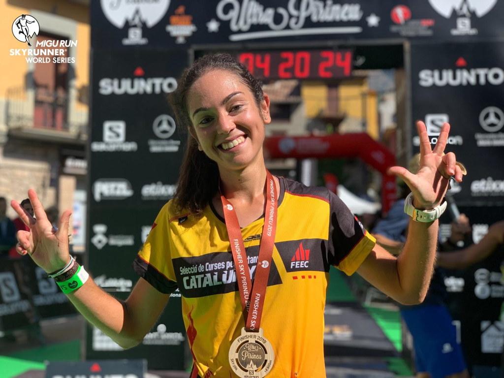 Gisela Carrión torna al pòdium a la prova de la Copa del Món Sky Pirineu