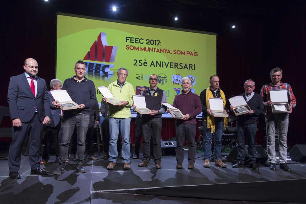 La festa de la FEEC, a l'espai Endesa