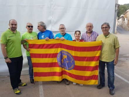 Cada any es porta la senyera a un indret de la geografia dels territoris de parla catalana, on s'agermana l'excursionisme i la llengua catalana