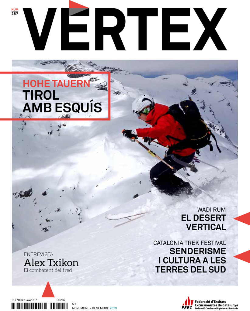Portada revista Vèrtex, número 287